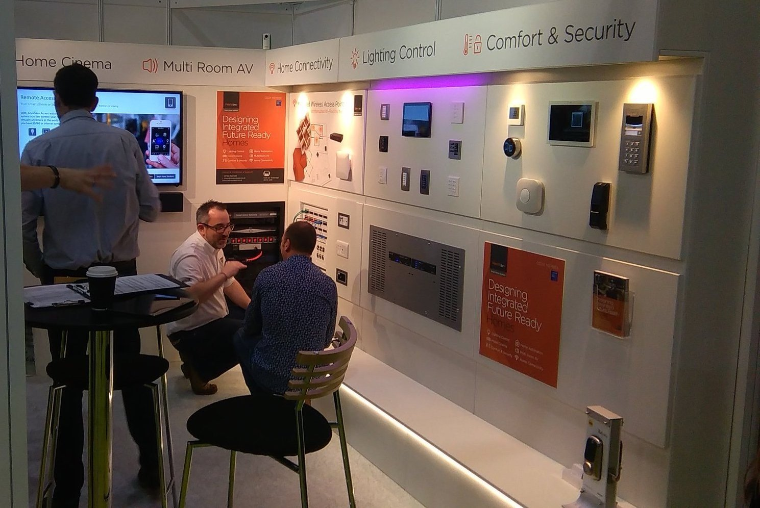 Exhibition Stand Design Kent : Case study printbig s foam x based display stand system wins top
