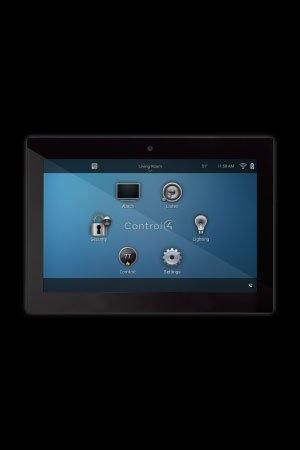 Control4 Glass Edge in-wall touchscreen