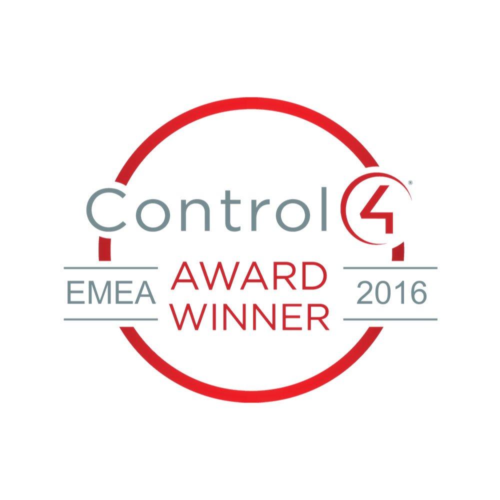 New Wave AV, Control4 Award Winner 2016 Logo