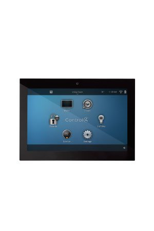 Control4 Glass Edge In-wall touchscreen