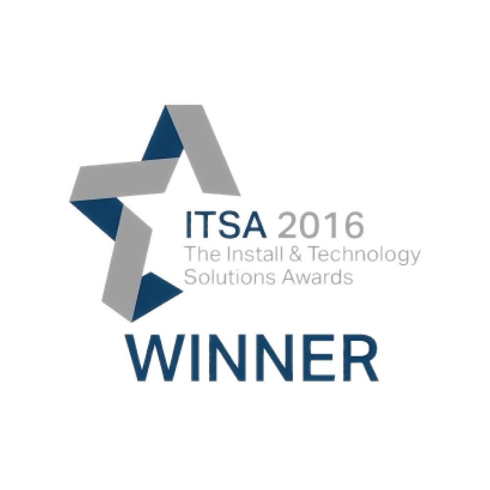 New Wave AV ITSA 2016 award winner