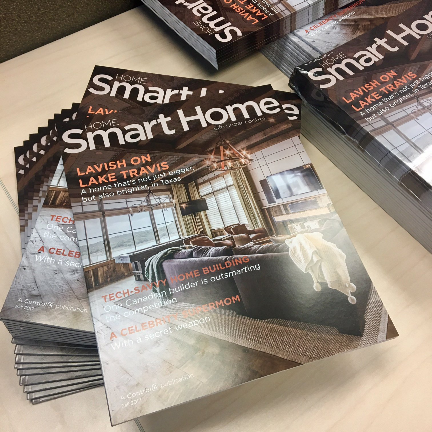 Home smart home magazine download