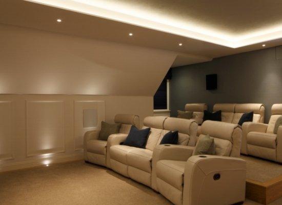 Loft Home Cinema Seating