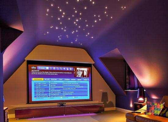 Loft Conversion Home Cinema