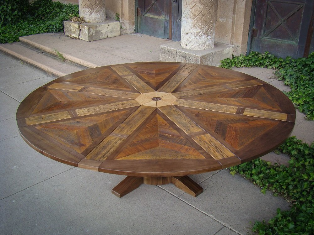 Western Heritage Furniture Expanding Round Table