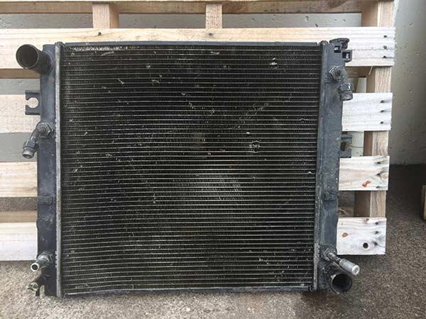 Old car radiator