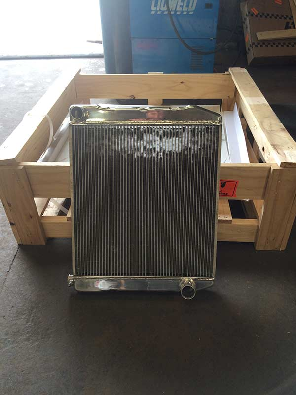 New car radiator