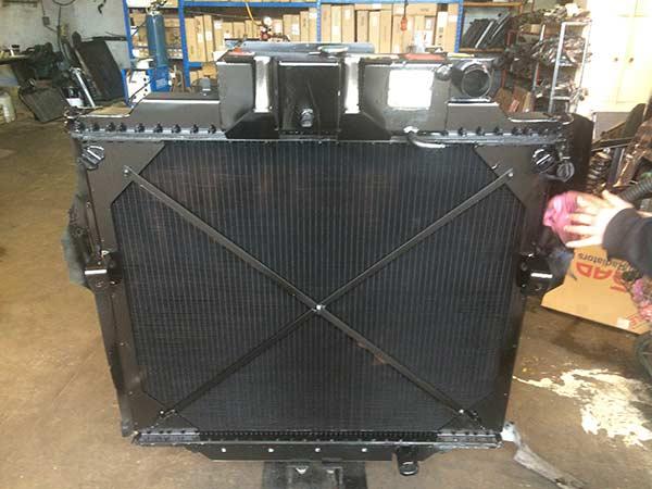 Repaired radiator