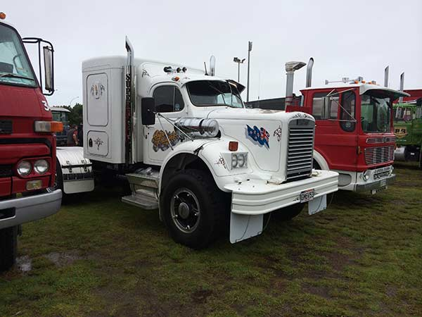 Exterior view of the truck