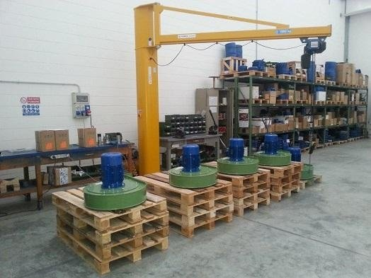 Supply of spare parts for motors