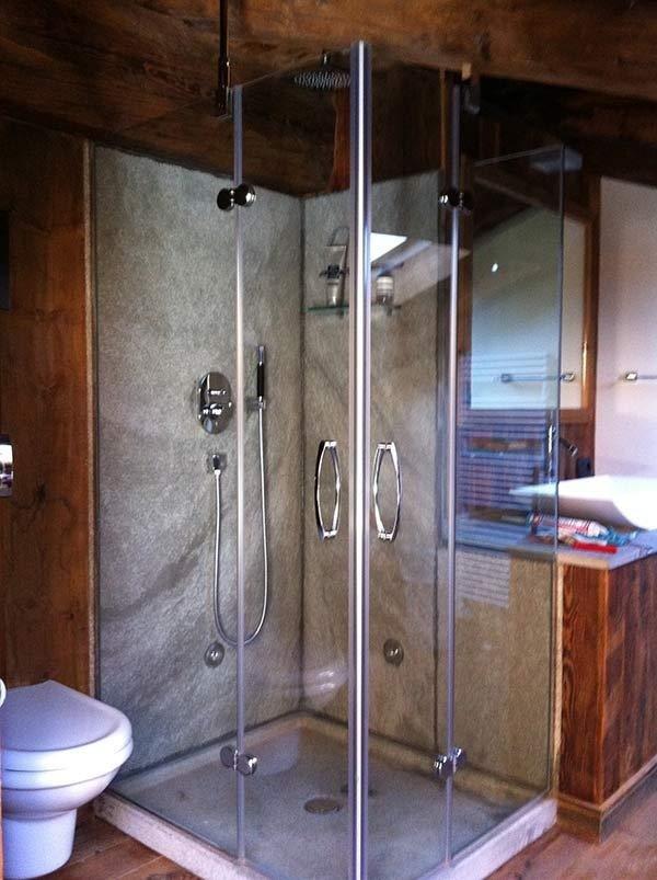 cabines de douche