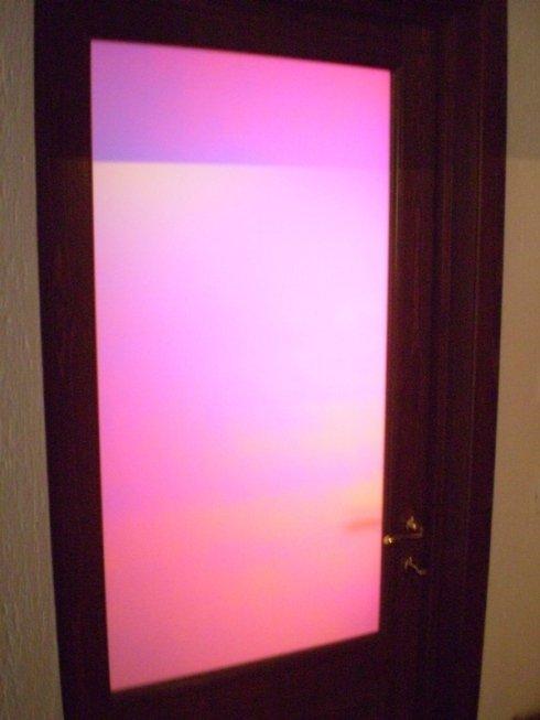 vitres en couleur pour portes d'intérieur aoste