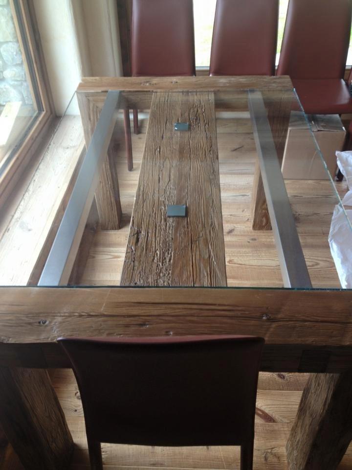 Tables en verre