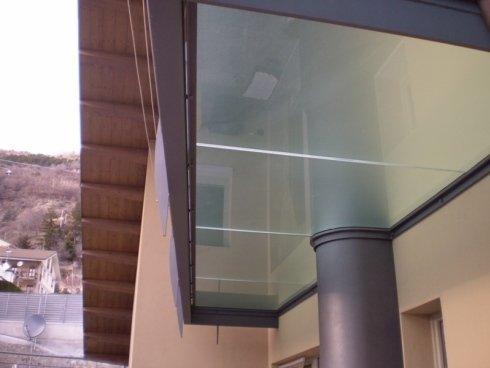 Pensiline in vetro