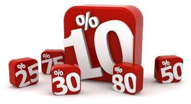 Percentage Savings