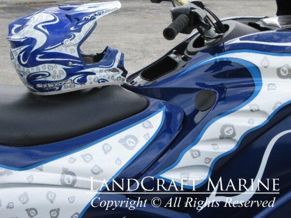 LandCraft Marine jet ski race helmet concept photo