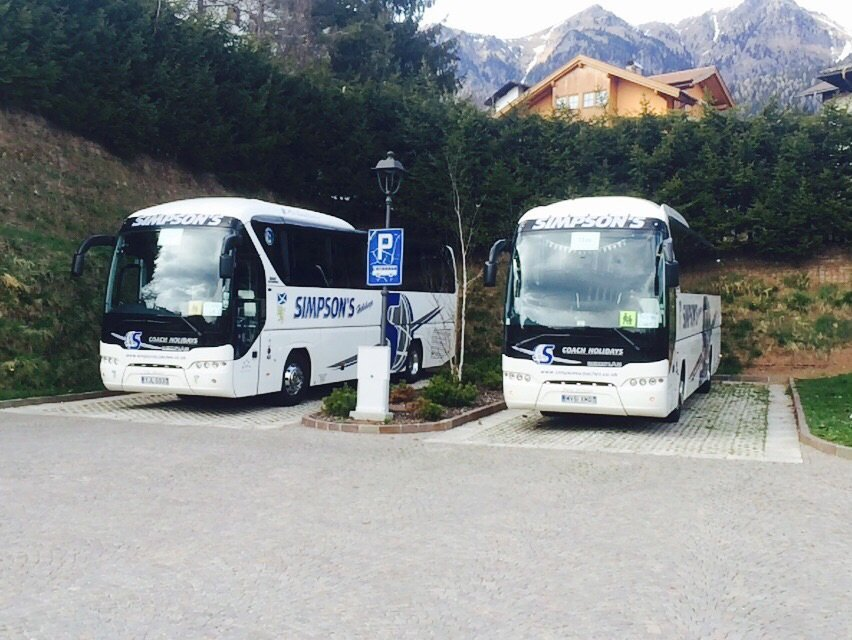 Comfortable journey in our new coaches