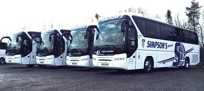 Our large fleet of vehicles