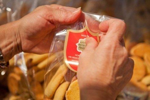 Confezione di dolci artigianali della pasticceria
