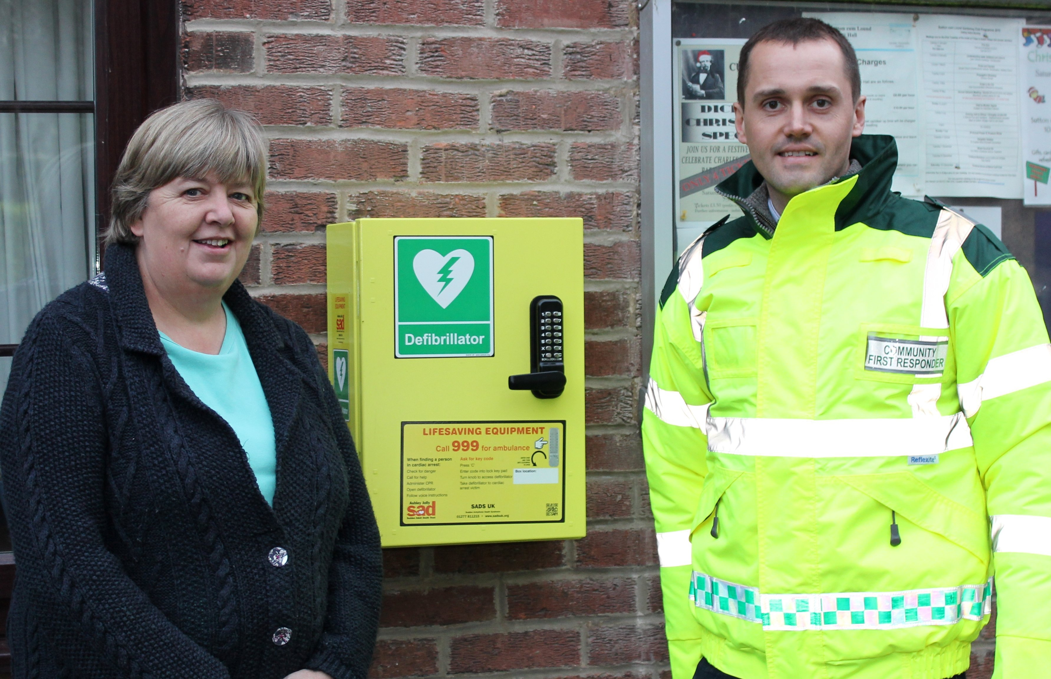 Mattersey Defibrillator
