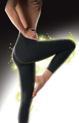 gambe di una donna durante esercizio fisico