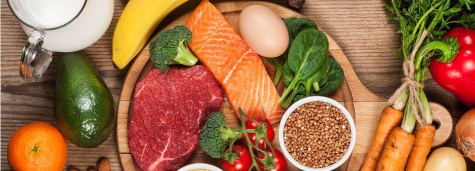 ingredienti e cibi dietetici