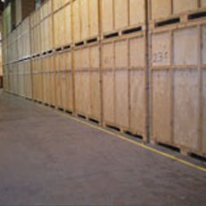 Storage and packing services