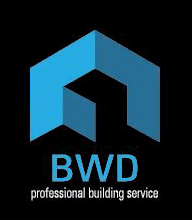 bwd professional building services business logo