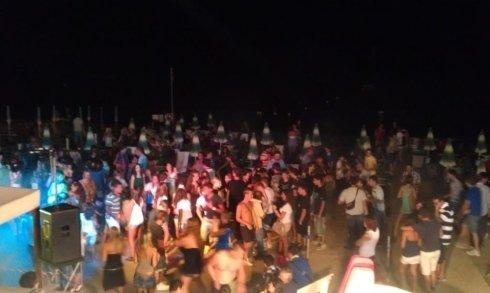 serate organizzate, serate danzanti, discoteca in spiaggia