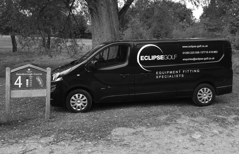 eclipse golf van