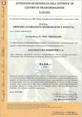 aziende siderurgiche certificate