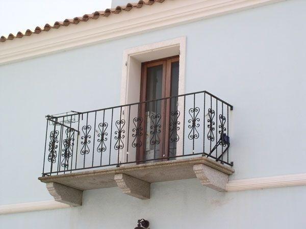 balcone ferro ringhiera