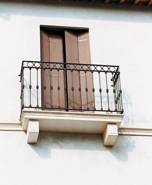 balcone  ringhiera