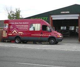 Isotech Sprayfoam Ltd van