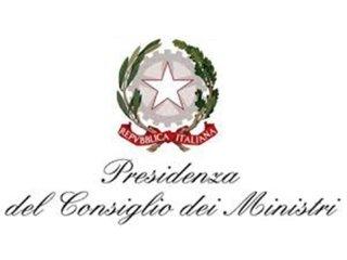 PRESIDENZA CONSIGLIO DEI MINISTRI