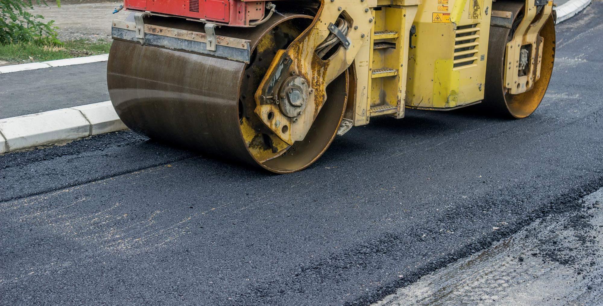 Equipment for asphalt services in Edwards, CO