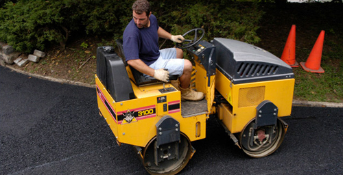 Professional providing asphalt services in Edwards, CO