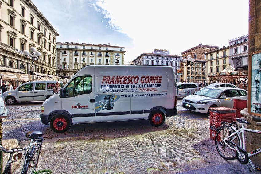 camioncino Francesco Gomme