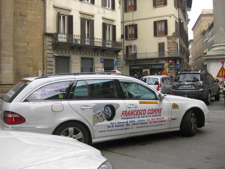 auto aziendale Francesco Gomme