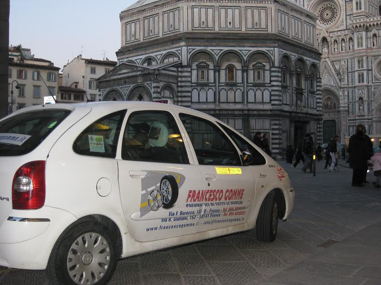 auto aziendale a Firenze