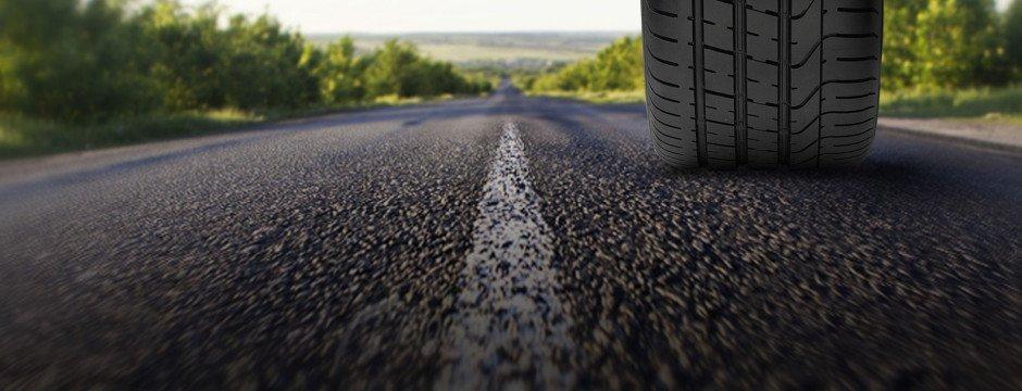 immagine ravvicinata di una strada
