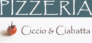 logo pizzeria ciccio e ciabatta