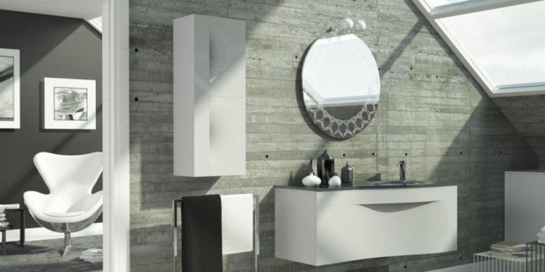 mobile doppio lavabo