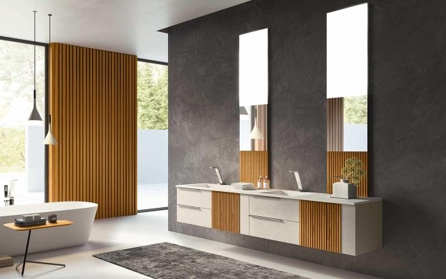 mobile bagno doppio lavabo Olbia