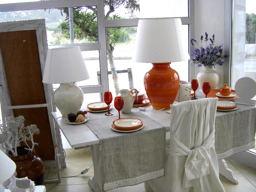 vasi e oggettistica Cerasarda Olbia