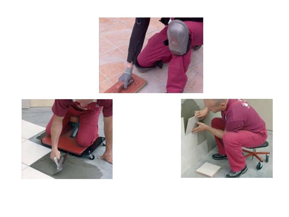 Il ginocchio del piastrellista - Lavoro per piastrellista ...