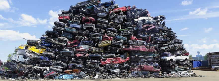 scrap car collection