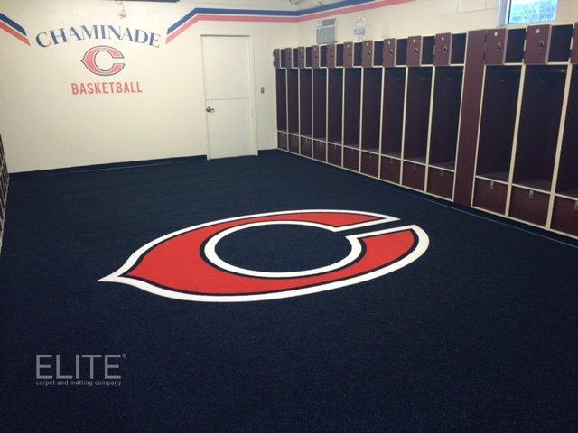 Elite Custom Locker Room Carpet And Matting