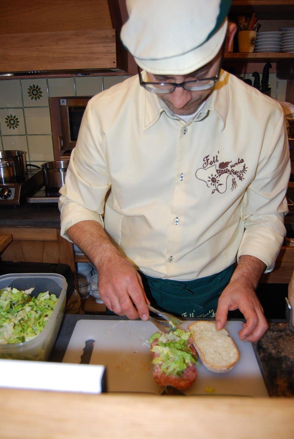 Preparazione dei piatti