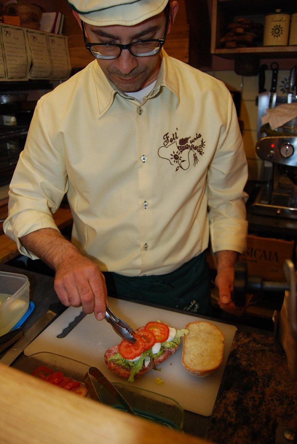 preparazione panini